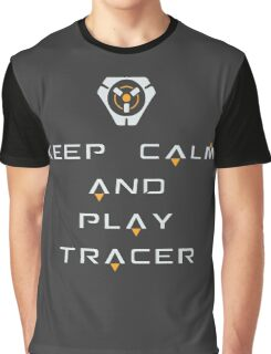 Keep Calm and Play Tracee Graphic T-Shirt