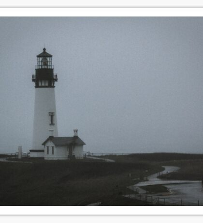 The Mystery of Yaquina Head Light Sticker