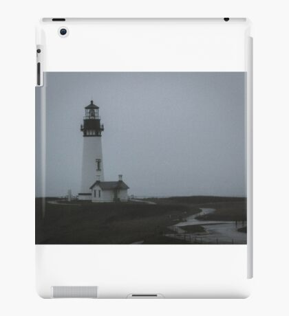 The Mystery of Yaquina Head Light iPad Case/Skin