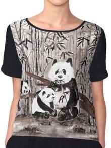 Bamboo  picnic Chiffon Top