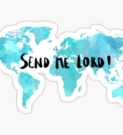 Send me Lord Sticker