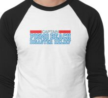 Clueless - Captain of the Pismo Beach Disaster Relief Men's Baseball ¾ T-Shirt