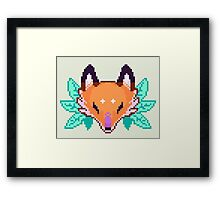 Pixel Fox Framed Print