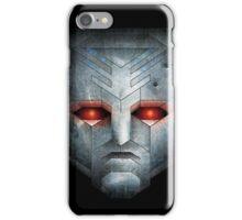 Metal Transformers Robot Head iPhone Case/Skin