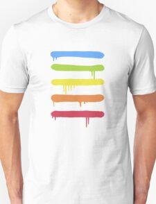 Trendy Cool Graffiti Tag Lines Unisex T-Shirt
