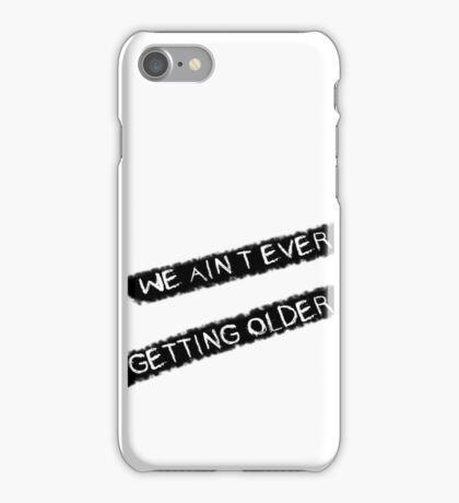 Closer Lyrics iPhone Case/Skin