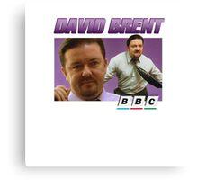 David Brent 90s Tee Canvas Print
