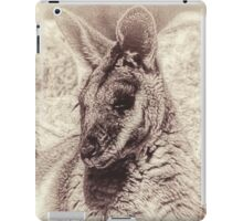 Rock Wallaby iPad Case/Skin