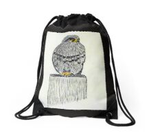 Falcon New Zealand Bird of Prey Drawstring Bag
