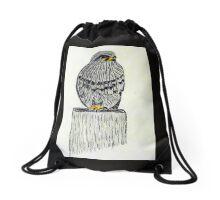 Falcon New Zealand Bird of Prey Drawstring Bag