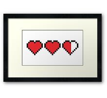 Three Lives Then You're Out Framed Print