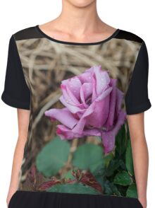 The First Rose of the season Chiffon Top