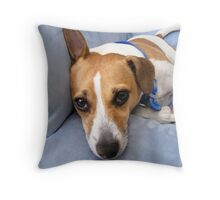 """ What ? "" Throw Pillow"