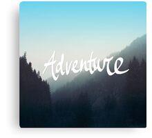Adventure x Blue Canvas Print