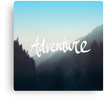 Adventure x Blue Canvas Print