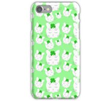 Lucky Clover Cat iPhone Case/Skin