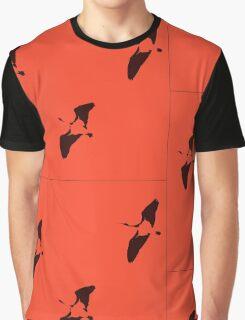 Ibis Flight - orange Graphic T-Shirt