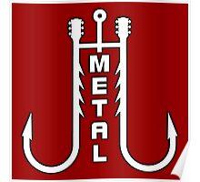 Metal music hooks Poster