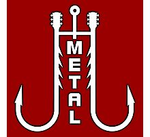 Metal music hooks Photographic Print