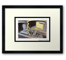 Alienation's For The Rich Framed Print