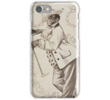 Performing Arts Posters Richards Pringles Famous Georgia Minstrels 0235 iPhone Case/Skin