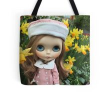 Blythe by the daffodils Tote Bag