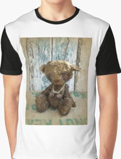 Handmade bears from Teddy Bear Orphans - Master Cecil, a vintage bear Graphic T-Shirt
