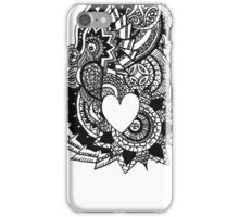 Heart Zendala iPhone Case/Skin