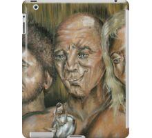 Three Dark Men iPad Case/Skin