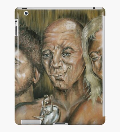 Three Dark Men iPad Case/Skin