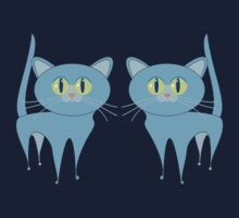 A PAIR OF PURRING CATS Kids Tee