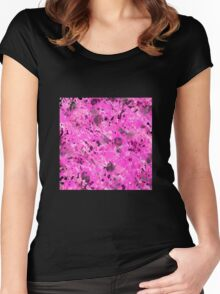 Pink Ink Women's Fitted Scoop T-Shirt