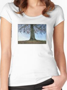 Under The Tree Women's Fitted Scoop T-Shirt