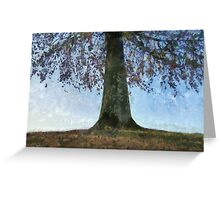 Under The Tree Greeting Card