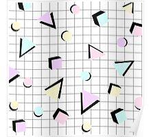 80s Geometric Poster