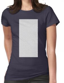 The entire bee movie script Womens Fitted T-Shirt