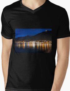 Night Echoes Mens V-Neck T-Shirt