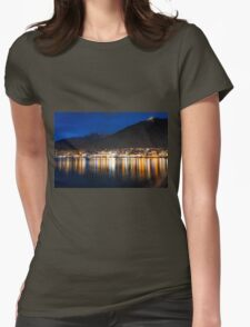 Night Echoes Womens Fitted T-Shirt