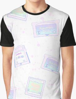 Pastel Cartridges Graphic T-Shirt