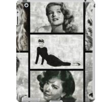 Screen Sirens - Hollywood Legendary Actresses iPad Case/Skin