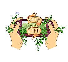Vita Means Life Photographic Print