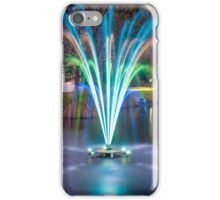 Fountain Light Show iPhone Case/Skin