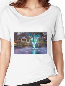 Fountain Light Show Women's Relaxed Fit T-Shirt