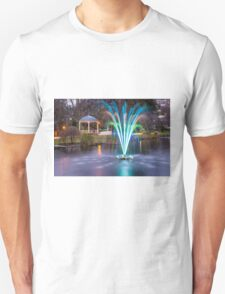 Fountain Light Show Unisex T-Shirt