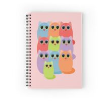 CAT ONE + 9 Spiral Notebook
