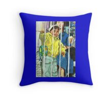 The Sound of Freedom- Colour Throw Pillow