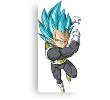 Super Saiyan Blue Vegeta  Canvas Print