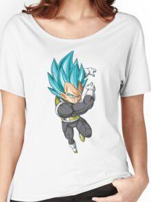 Super Saiyan Blue Vegeta  Women's Relaxed Fit T-Shirt