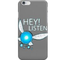 Navi!  HEY! LISTEN! iPhone Case/Skin