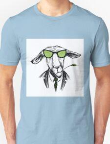 Fashion Portrait of donkey Hipster, Unisex T-Shirt